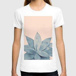 Blush Agave #3 #tropical #decor #art #society6 T-shirt