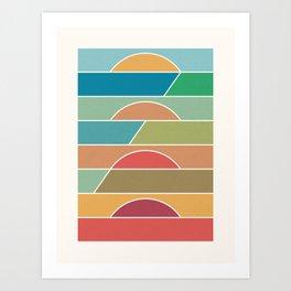 4 Degrees Art Print