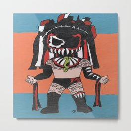 The Demon: Finn Balor Summerslam Edition Metal Print