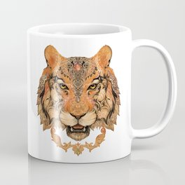 Boho Tribal Tiger Coffee Mug