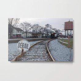 Strasburg Railroad Series 24 Metal Print