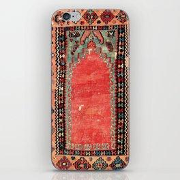 Sivas  Antique Cappadocian Turkish Niche Kilim Print iPhone Skin