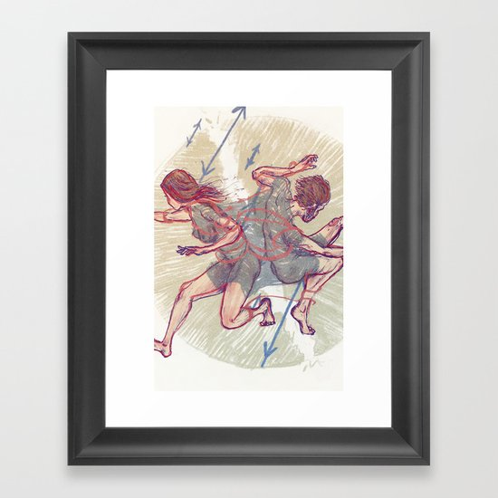Haters  Framed Art Print