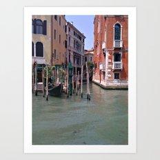 When Venezia Sleeps. Art Print