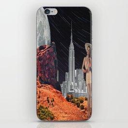 Mars Town iPhone Skin