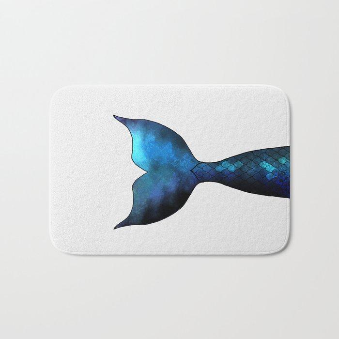 mermaid tail #2 Bath Mat
