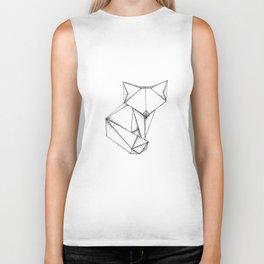 Origami Fox Biker Tank