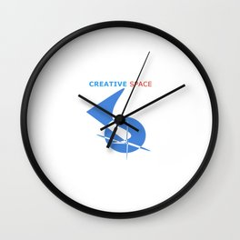 CREATIVE SPACE Wall Clock