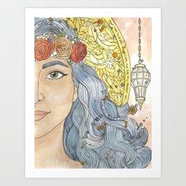 Lady Wisdom (Sophia) Art Print