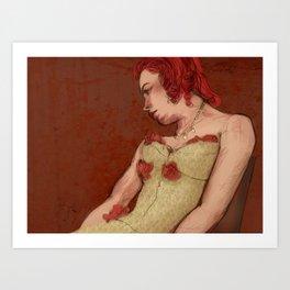 Annette Betté Kellow Art Print