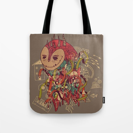 The Doodler Tote Bag