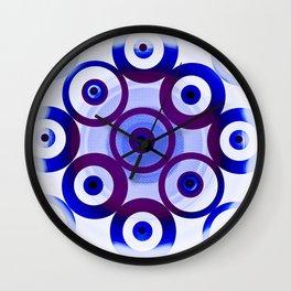Circling circles Wall Clock