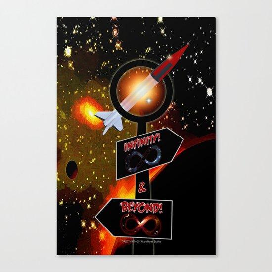 DIRECTION - 001 Canvas Print