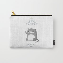 Hungry Cat Carry-All Pouch