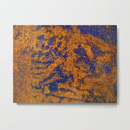 Rust Three Metal Print