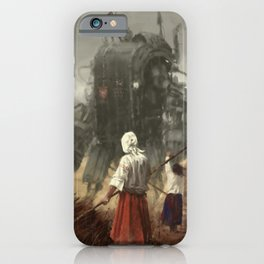 1920 - the youngest sister iPhone Case