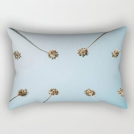 palm trees v Rectangular Pillow
