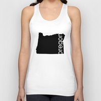 oregon Tank Tops featuring Oregon by Isabel Moreno-Garcia
