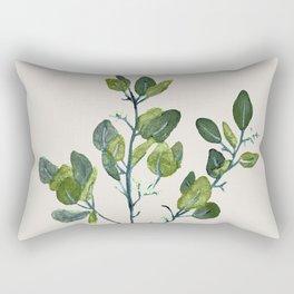 Eucalyptus Branch Rectangular Pillow
