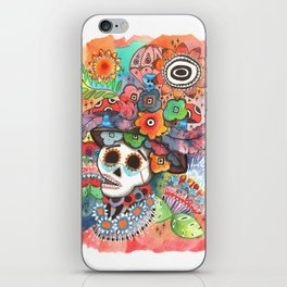 Social Pace iPhone Skin