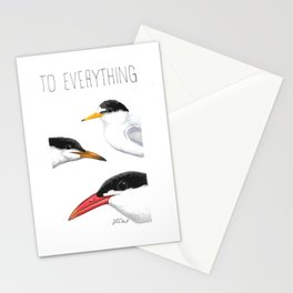 Turn! Turn! Turn! (Least Tern, Common Tern, Caspian Tern) Stationery Cards