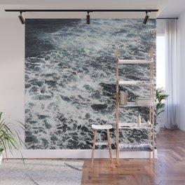 Getting lost in Ocean hues Wall Mural
