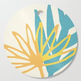 Happy Summer Abstract Cutting Board