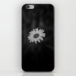 Stand Out (black and white) iPhone Skin