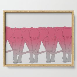 Pink elephant Serving Tray