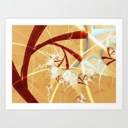 Blood Veins Art Print