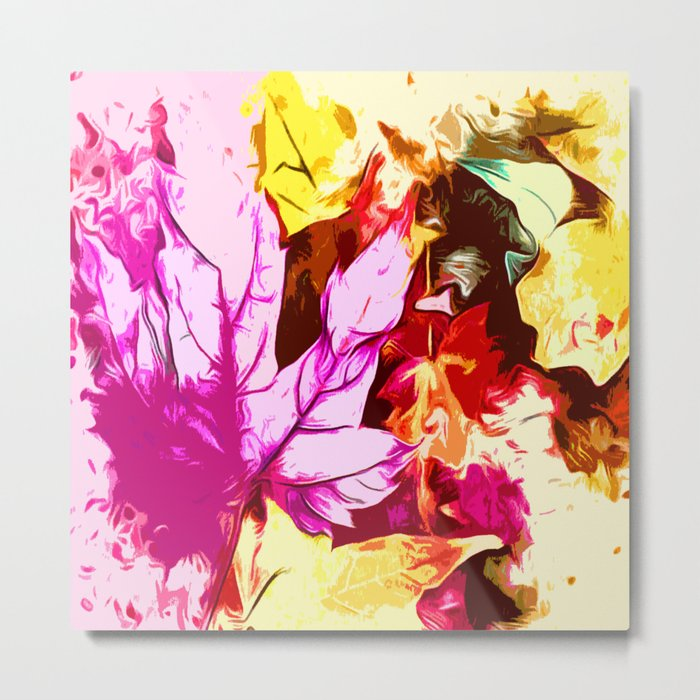 Colours in autumn Metal Print