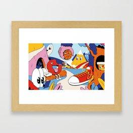 Dream Vacation Framed Art Print