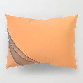 Zen Beach Orange Pillow Sham