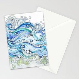 Ocean Seaweed Stationery Cards