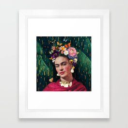 Frida Kahlo :: World Women's Day Framed Art Print
