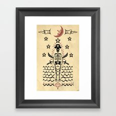 The Pirate Framed Art Print