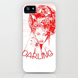 Darling iPhone Case