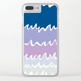 Ebb&Flow-Ice Clear iPhone Case