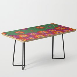 Retro Blooming Coffee Table