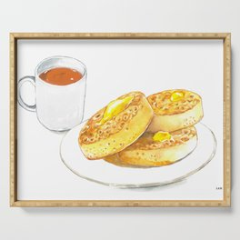 Crumpets Serving Tray