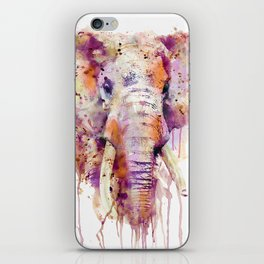 Elephant Head iPhone Skin