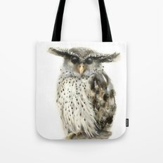 Forest Eagle Owl Tote Bag