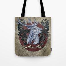 My Deer Friend / Version 2 Tote Bag