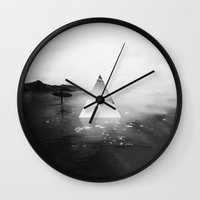 surfer Wall Clocks featuring Surfer by fly fly away