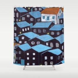 The Village Shower Curtain