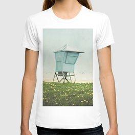 Santa Barbara Lifeguard Stand  T-shirt