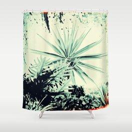 Abstract Urban Garden Shower Curtain