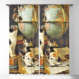 12,000pixel-500dpi - Henriette Ronner-Knip - World Traveler - Digital Remastered Edition Blackout Curtain