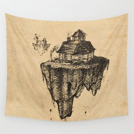 Floating Home Wall Tapestry