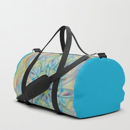 Swirly Flower Abstract 04 Duffle Bag